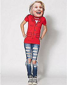 Hillary Suit Costume T Shirt