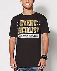 Event Security T Shirt