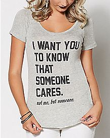 I Want You to Know Shirt