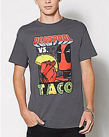 Deadpool vs. Taco T Shirt - Marvel Comics