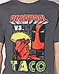 Deadpool vs. Taco T Shirt