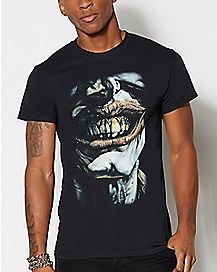 Joker Smile Cover T shirt - DC Comics