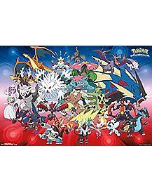 Pokemon Evolution Group Poster