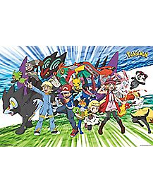 Pokemon XY Trainer Group Poster
