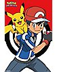Pikachu and Ash Pokemon Poster