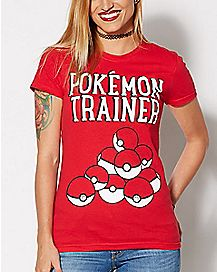 Pokemon Trainer T Shirt - Pokemon