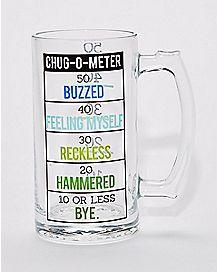 Chug-O-Meter Beer Stein - 1.5 liter