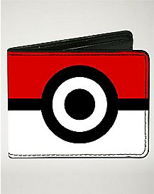 Pokeball Pokemon Bifold Wallet