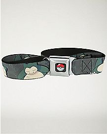 Snorlax Pokemon Seatbelt Belt