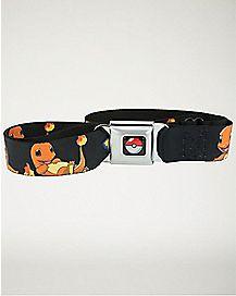 Pokemon Charmander Seatbelt Belt