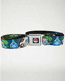 Pokemon Starters Seatbelt Belt