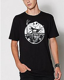 Jack Skellington Nightmare Before Christmas T Shirt