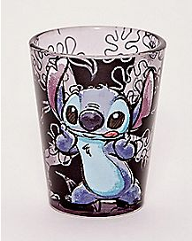 Cheeks Stitch Mini Glass 1.5 oz. - Disney