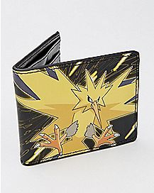 Zapdos Pokemon Bifold Wallet