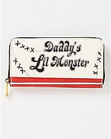 Daddys Little Monster Harley Quinn Wallet