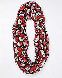 Pokeball Pokemon Scarf