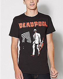 Deadpool Dead Noir T Shirt - Marvel Comics