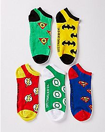 Superhero Socks 5 Pack - DC Comics