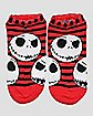 Jack Skellington No Show Ankle Socks 5 Pack