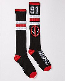 Deadpool Crew Socks
