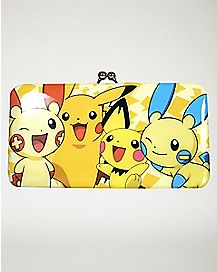 Electric Type Kisslock Wallet - Pokemon