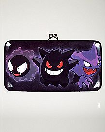 Ghost Type Kisslock Wallet - Pokemon