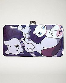 Mew and Mewtwo Kisslock Wallet - Pokemon