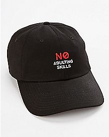 No Adulting Skills Dad Hat
