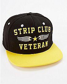 Strip Club Veteran Snapback Hat