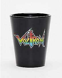 Voltron Rainbow Shot Glass