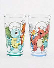 Pokemon Evolution Pint Glass 2 Pack