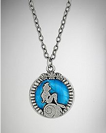 Ariel Blue Water Necklace
