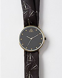 Dealthy Hallows Harry Potter Scarf Watch