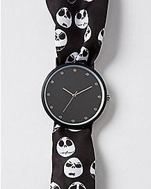Jack Skellington The Nightmare Before Christmas Scarf Watch