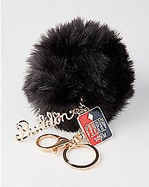 Harley Quinn Puddin Pom Pom Keychain - Suicide Squad