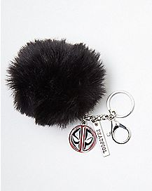 Deadpool Pom Pom Keychain - Marvel Comics