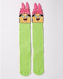 Louise Ears Knee High Socks - Bob's Burgers
