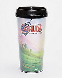3D Travel Mug 16 oz. - Legend of Zelda