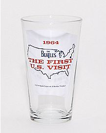 The Beatles Pint Glass - 16 oz