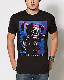 Sister Location T Shirt - Five Nights at Freddy's