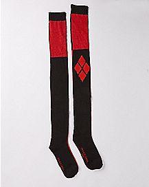 Harley Quinn Over The Knee Socks