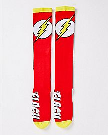 The Flash Knee High Socks - DC Comics