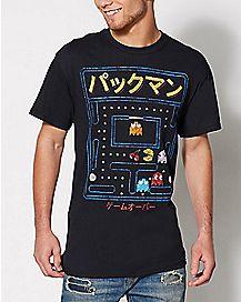 Kanji Pacman T Shirt