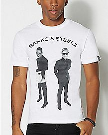 Banks and Steelz T Shirt