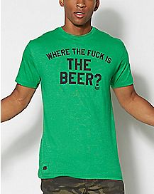 Where is the Beer T Shirt