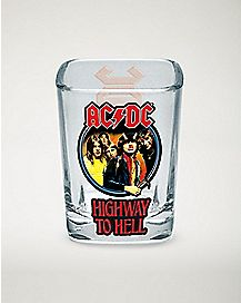 Highway To Hell ACDC Shot Glass - 2 oz