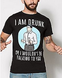 Archer I am Drunk T Shirt