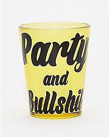 Notorious B.I.G. Party and Bullshit Shot Glass - 1.5 oz.