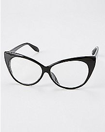 Cat Eye Faux Glasses