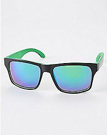 Green Lense Sunglasses